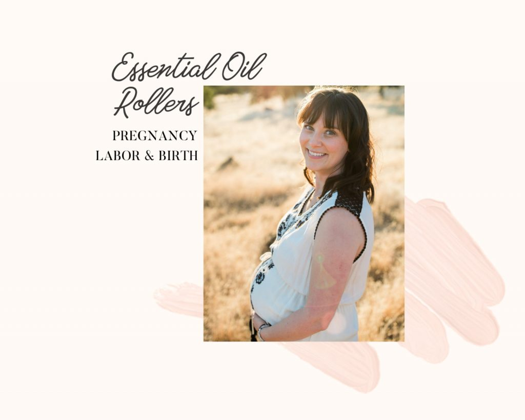 haylee of whimsy and wellness roller bottle blends for labor and delivery