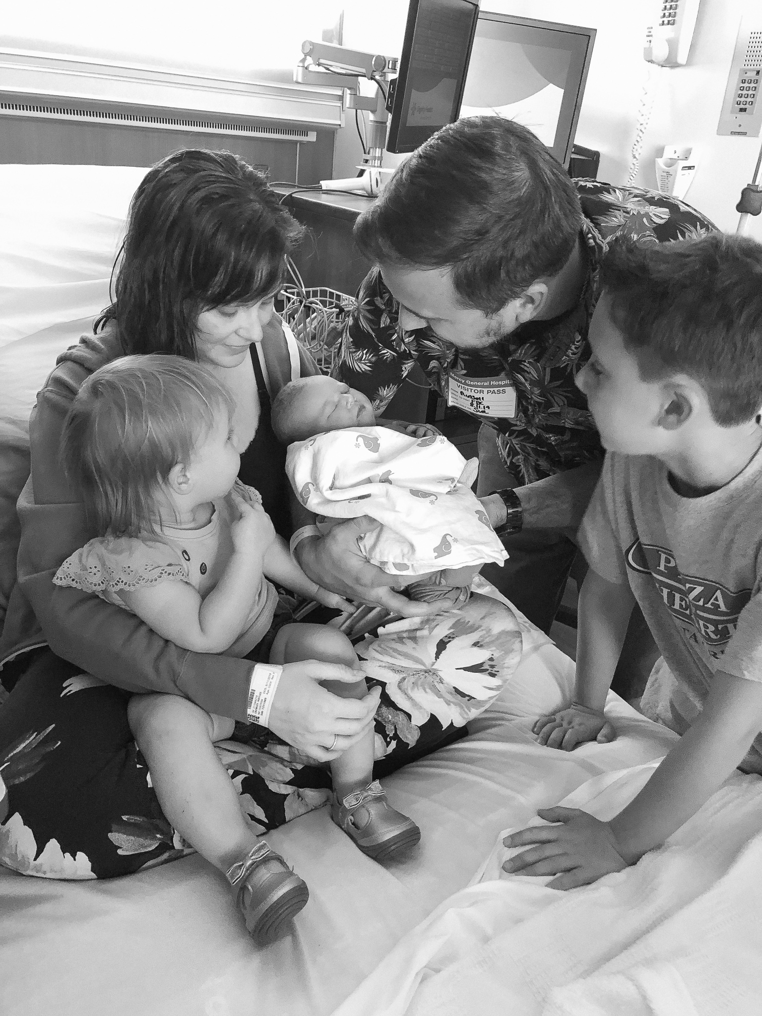 family together in hospital haylee whimsy wellness