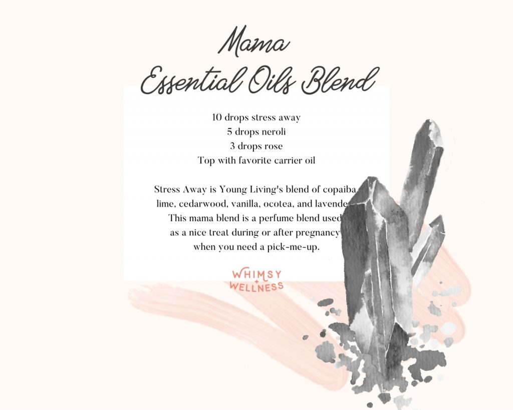 mama perfume essential oil blend for pregnancy and postpartum
