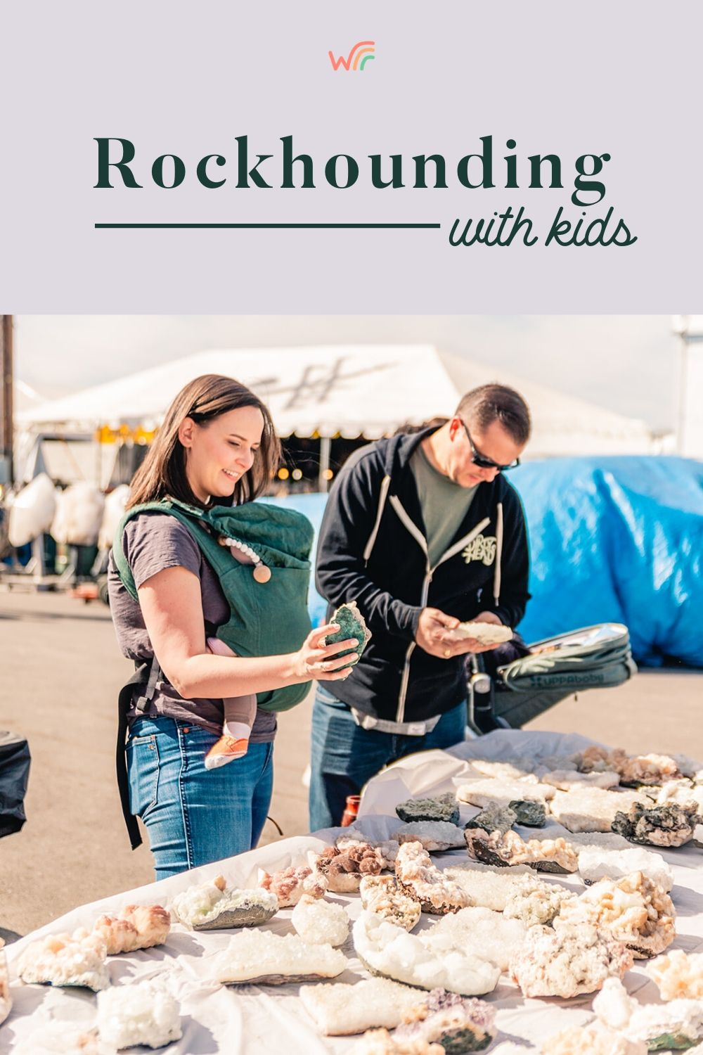 rockhounding with kids whimsy and wellness