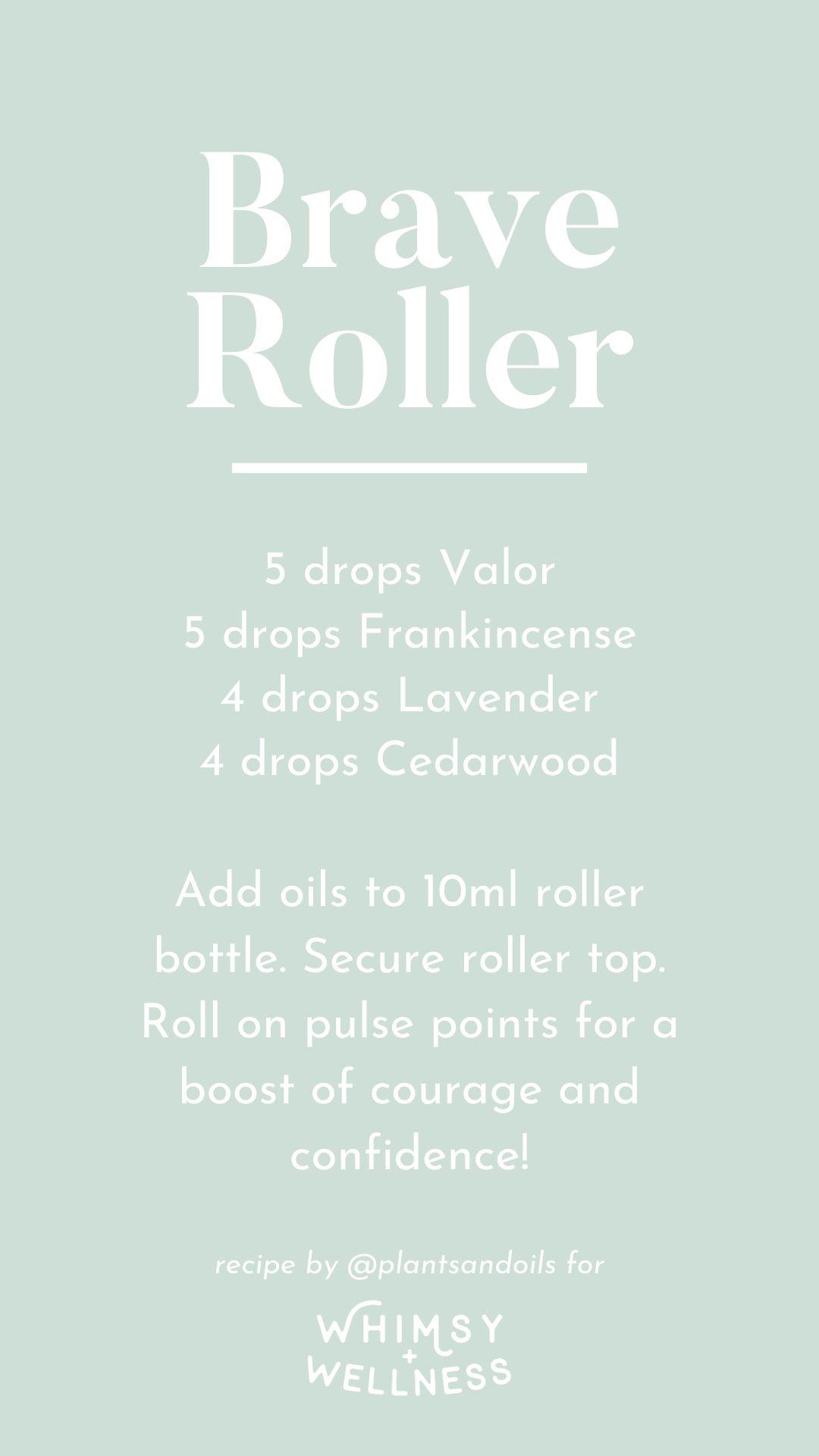Brave Essential Oil Roller Karen Serrano Whimsy + Wellness
