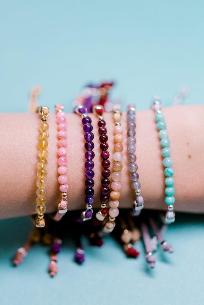 crystals gemstones bracelets