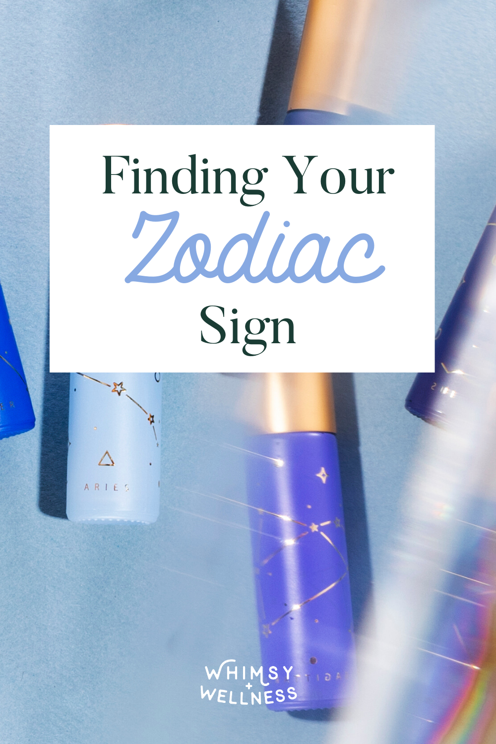 finding your zodiac sign with whimsy + wellness