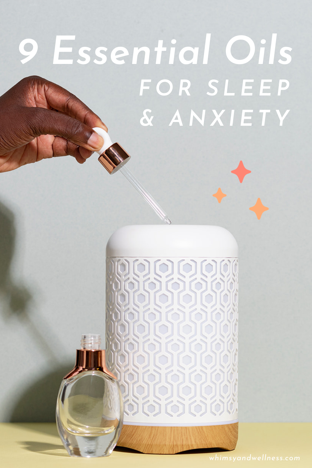 9 essential oils for sleep and anxiety with 6 recipes for roller bottles and diffusers