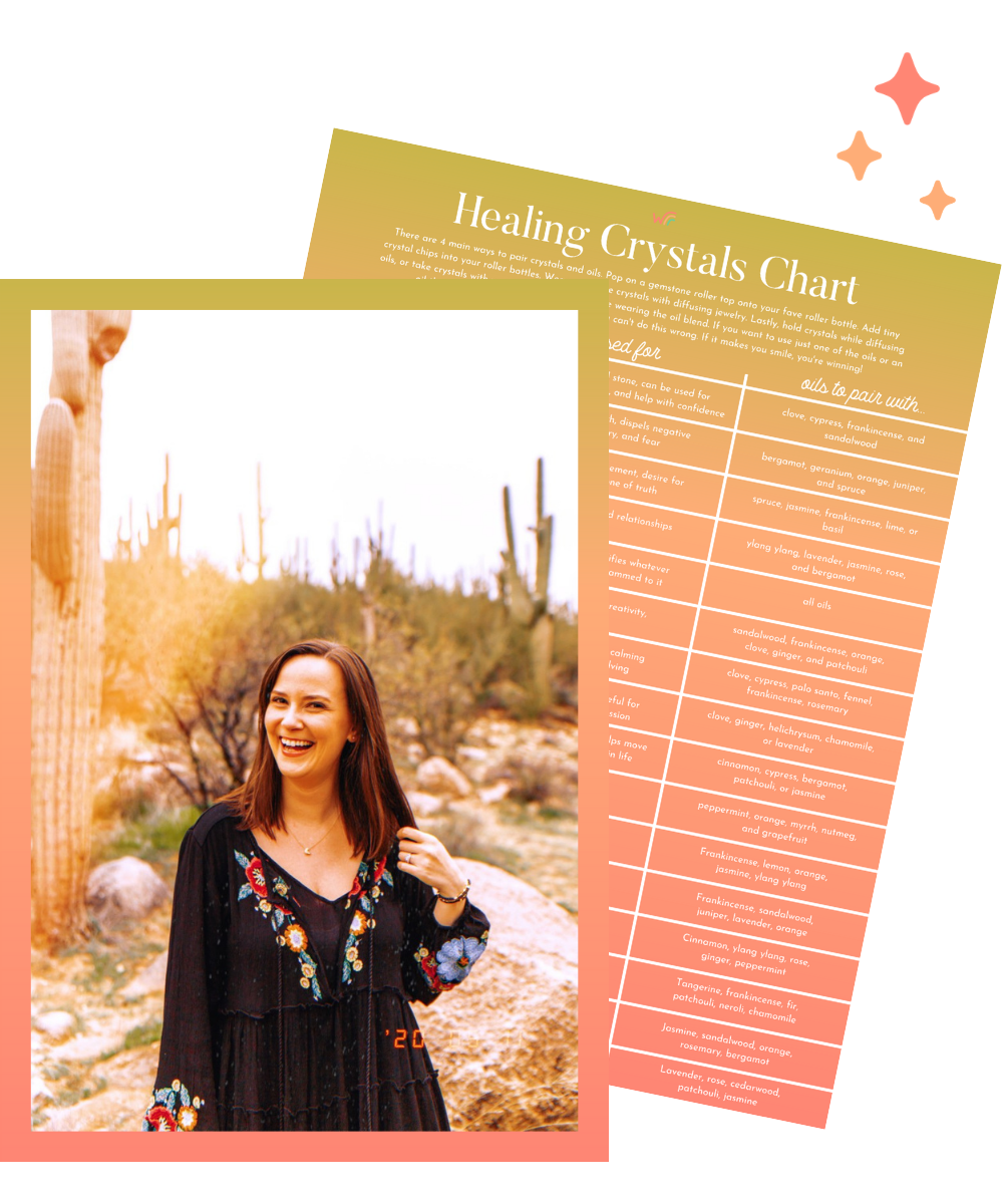 healing crystals chart whimsy and wellness