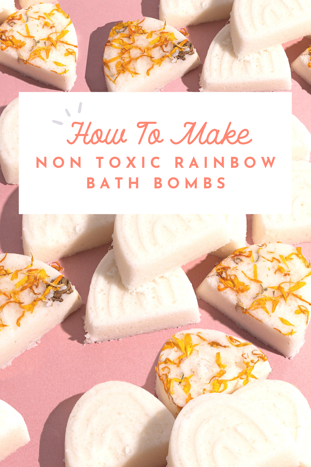 How to make non toxic rainbow bath bombs with essential oils whimsy wellness DIY kit