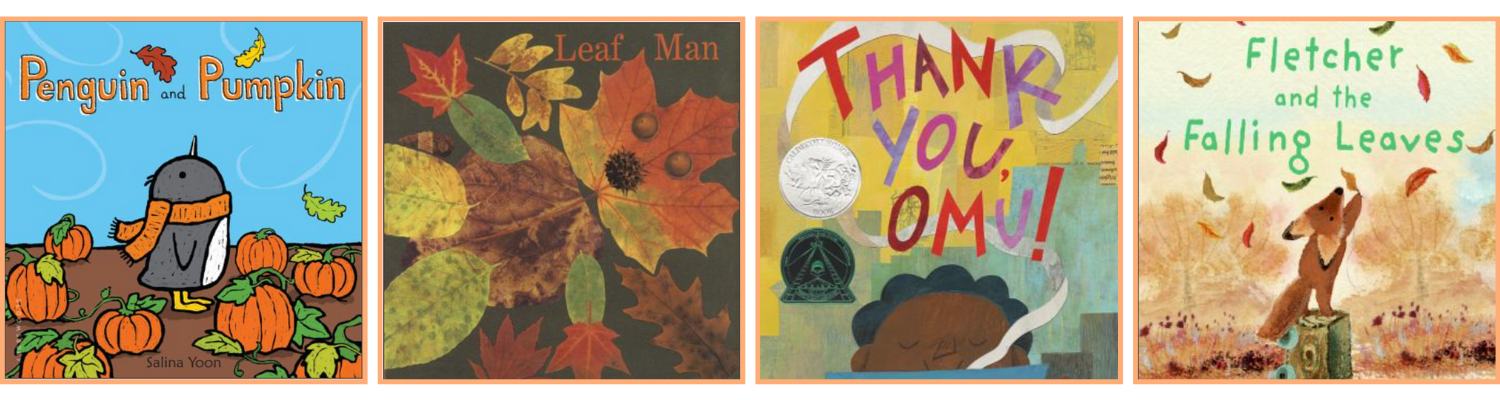19 fall books for kids BIPOC