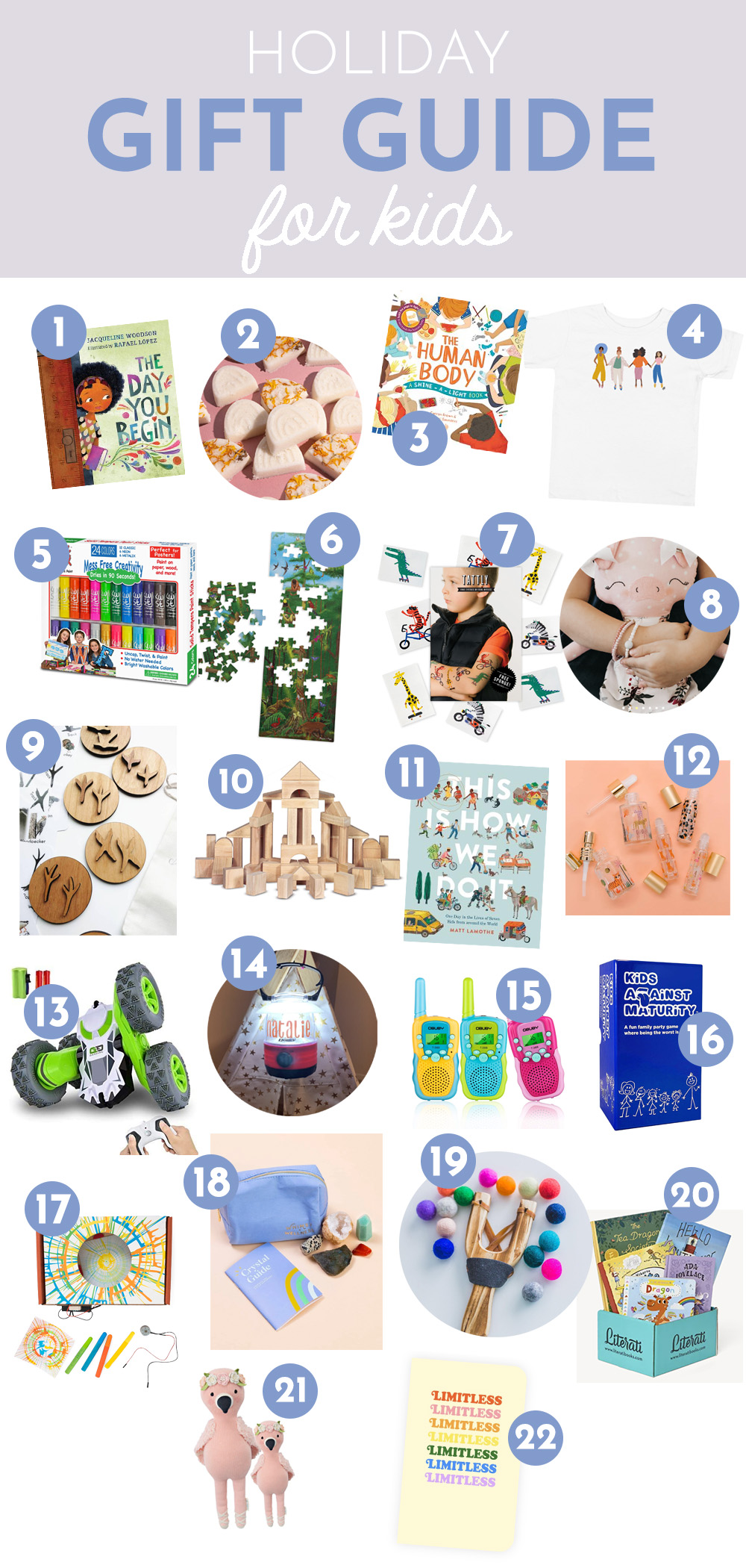 22 Best holiday gifts for kids.