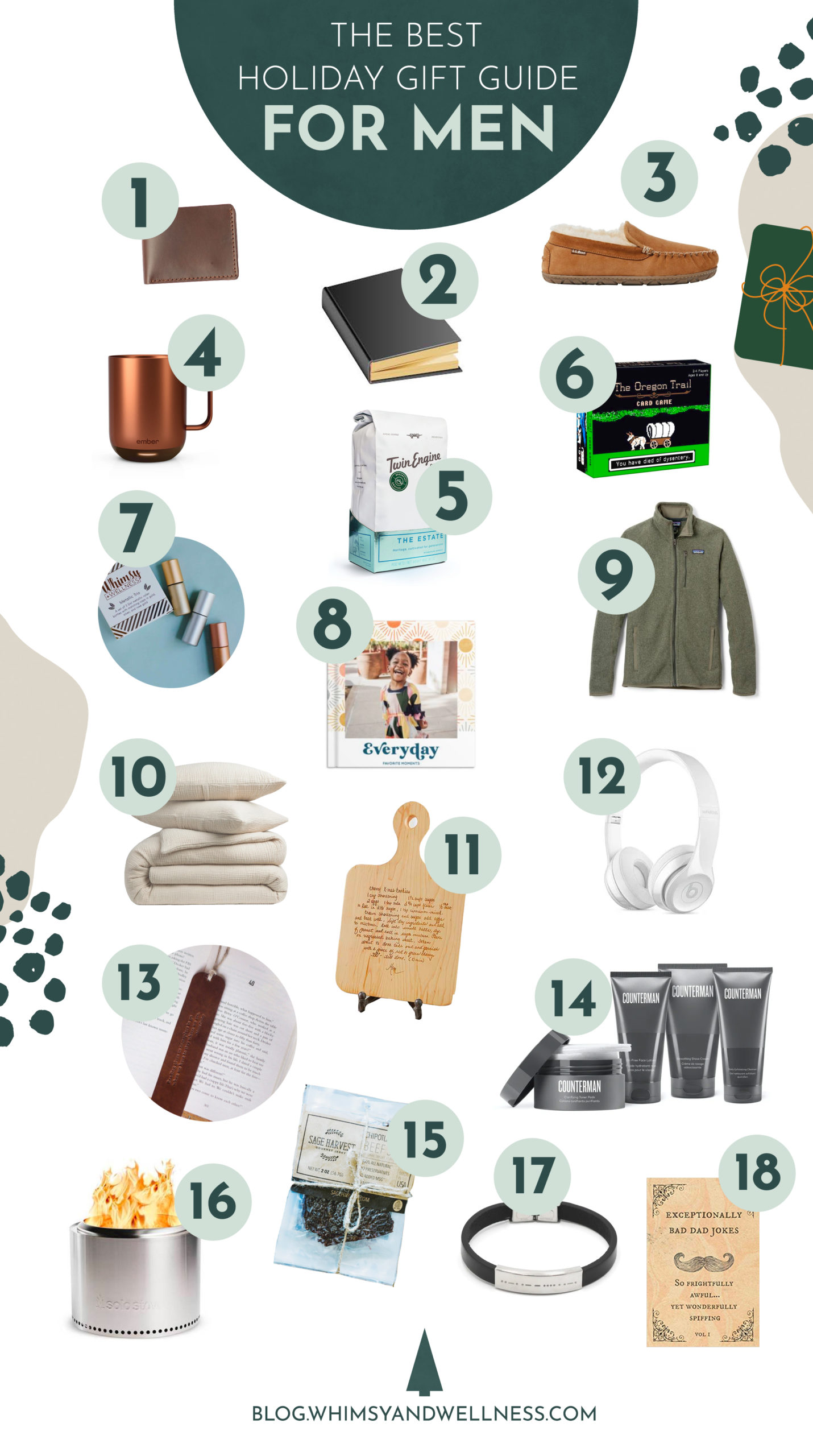 the best holiday gift guide for men 2020 Thoughtful, Whimsical Gifts for Your Husband/Dad/Uncle/Brother/etc.
