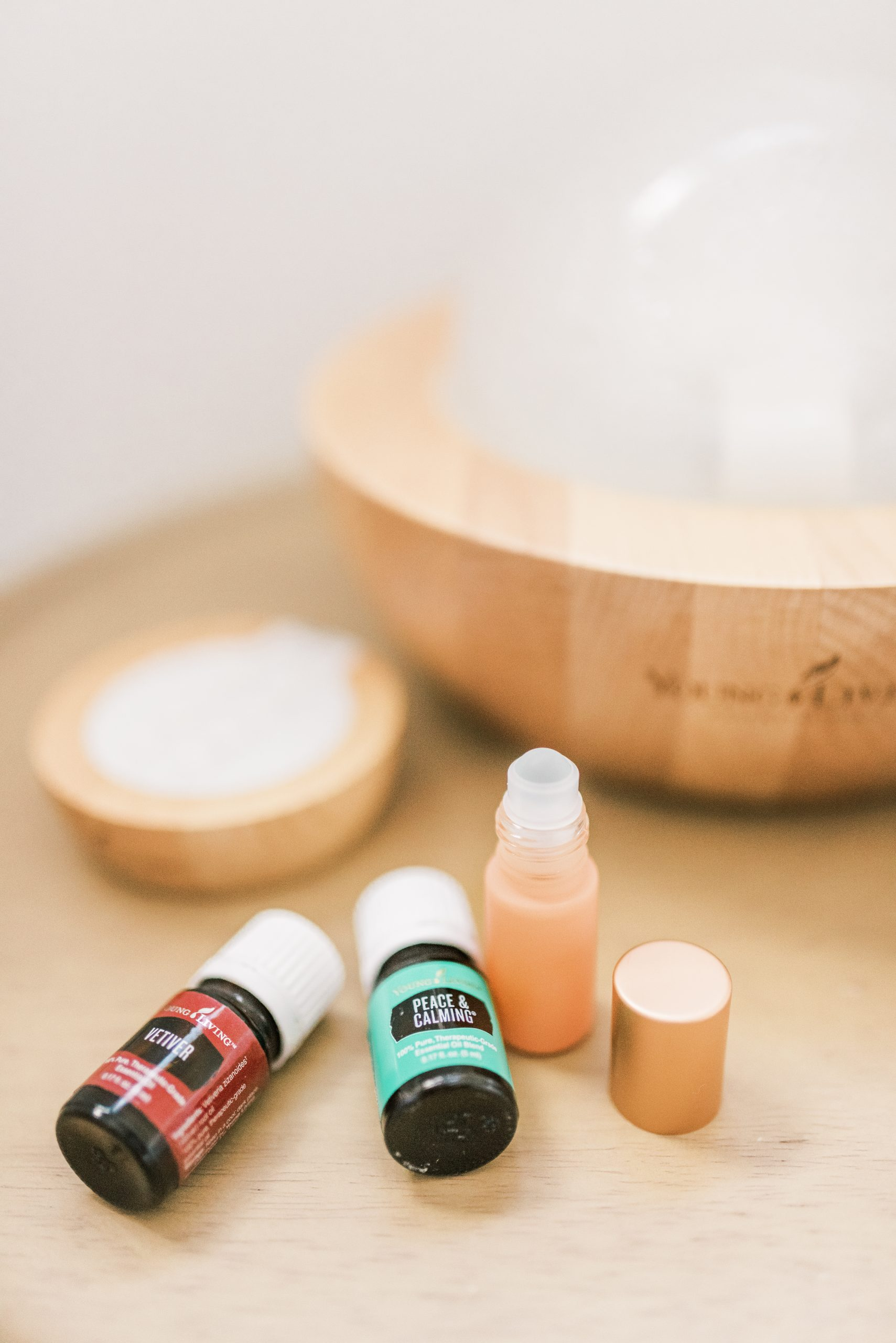 Alex Hinders shares her favorite sleep support diffuser blends using Whimsy + Wellness products and Young Living essential oils.