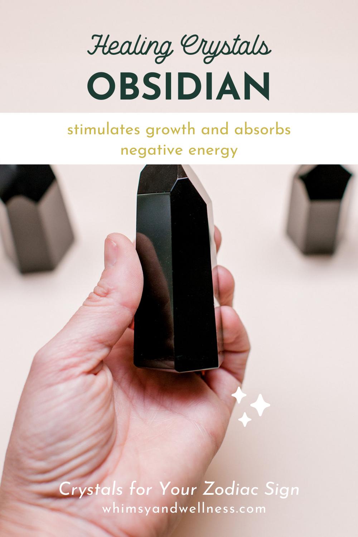 Obsidian for Scorpio