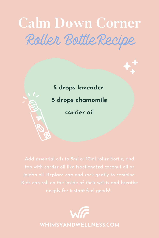 Calm Down Roller Recipe