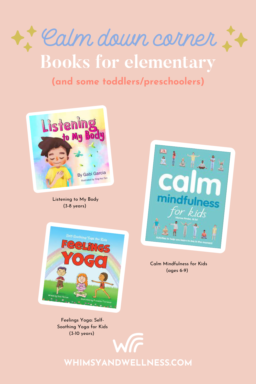 Calm Down Corner Elementary books