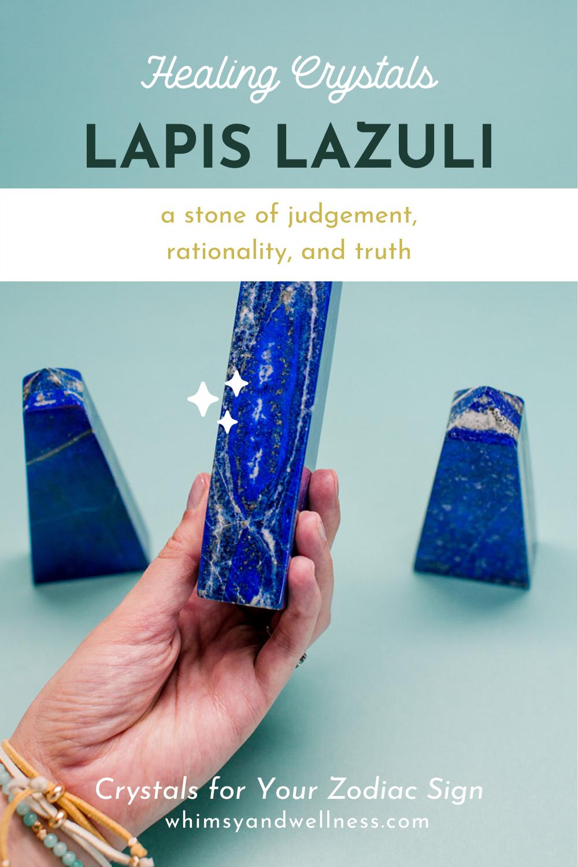 Lapis Lazuli for Libra