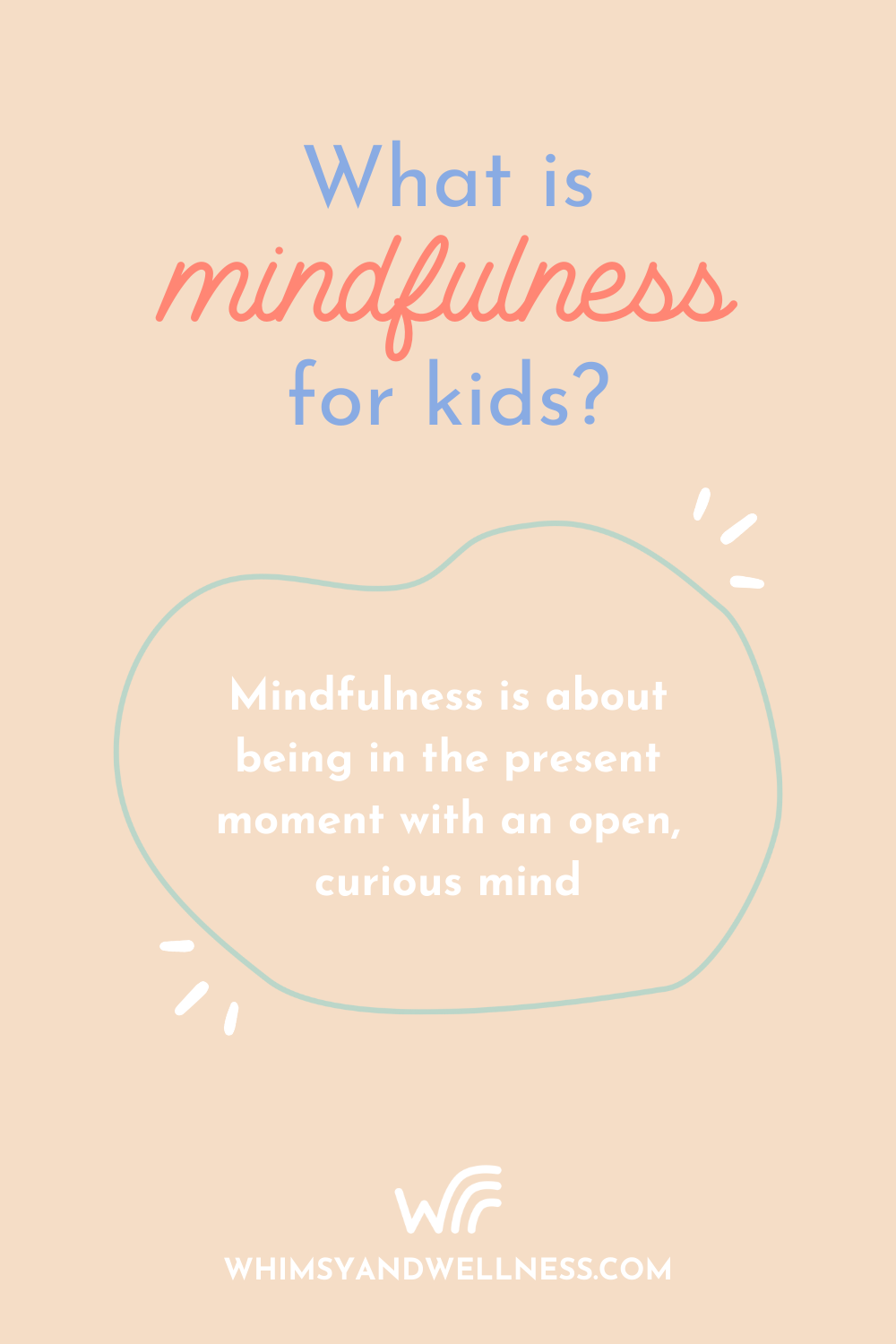 What is Mindfulness for kids?