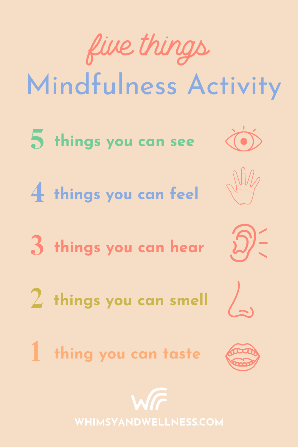 five things activity