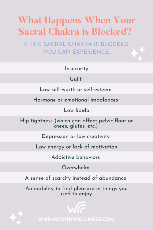 What Happens When Your Sacral Chakra Is Blocked?