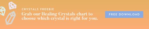 Healing Crystals Chart - Free Download