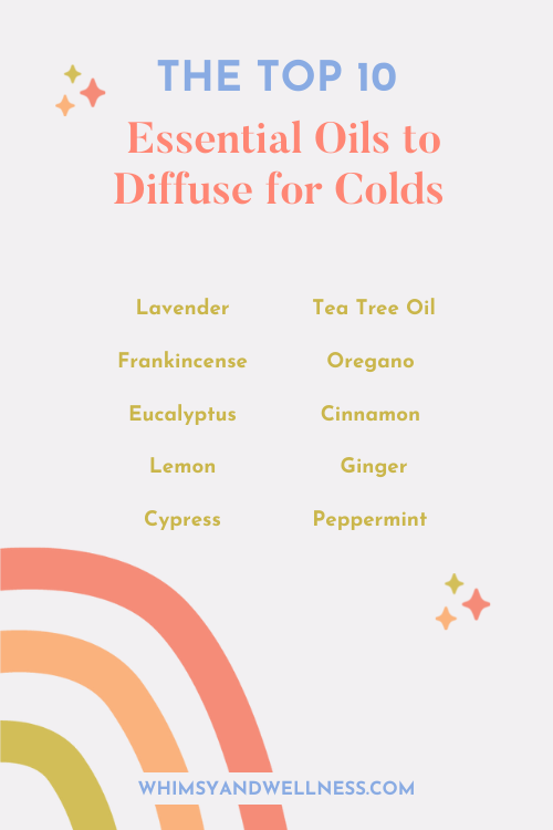 Top Essential Oils for Colds
