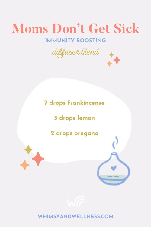 Moms immunity boosting diffuser blend recipe
