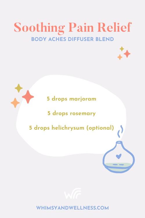 Body aches diffuser blend recipe
